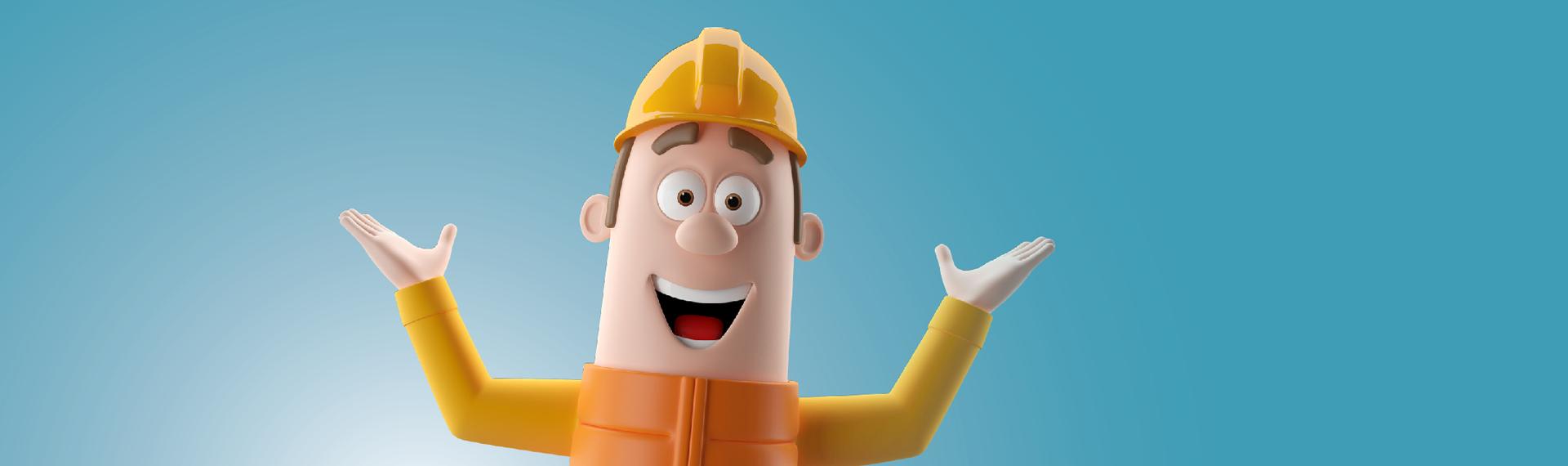 Wat nou een tekort aan bouwvakkers?